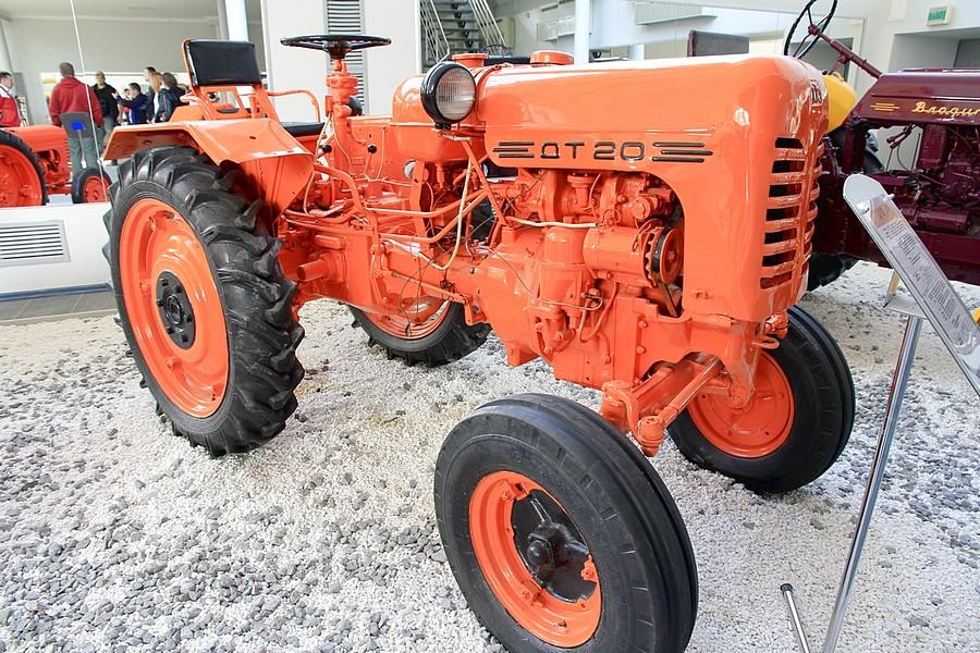 Трактор ДТ-20 двигатель