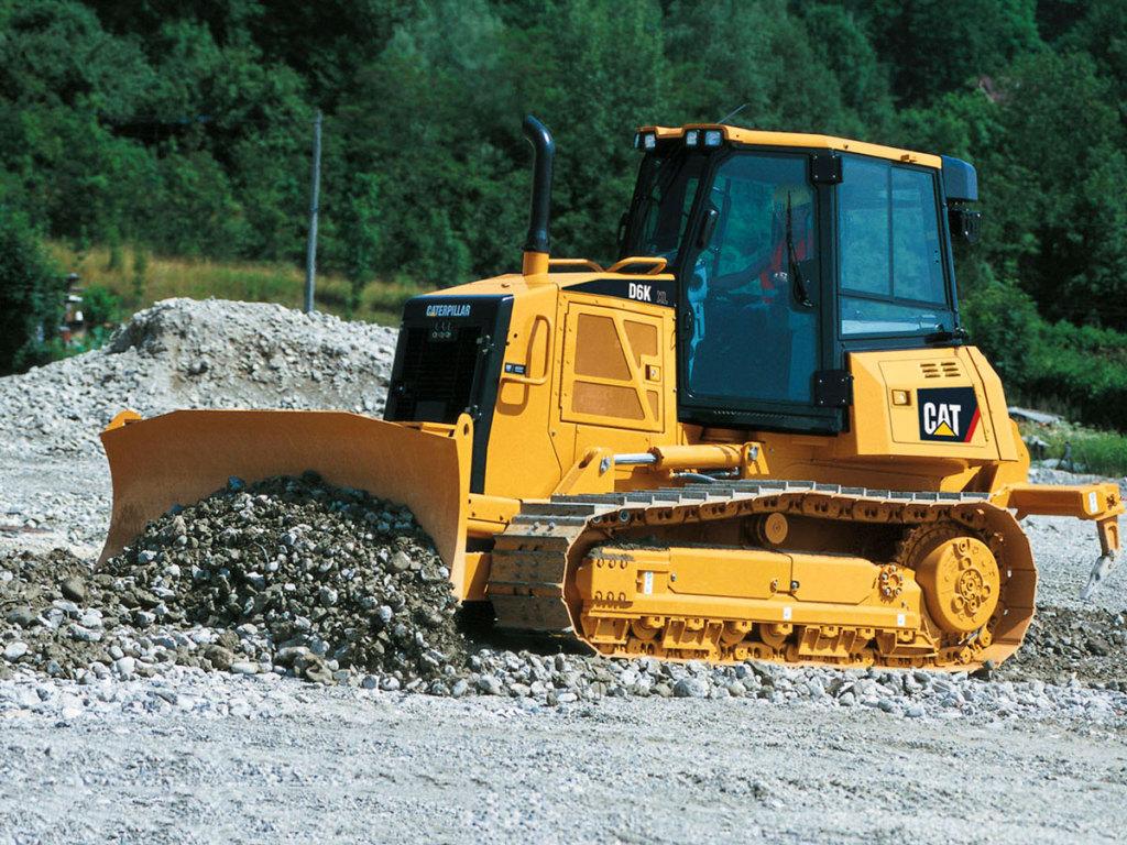 Бульдозер Caterpillar D6 технические характеристики