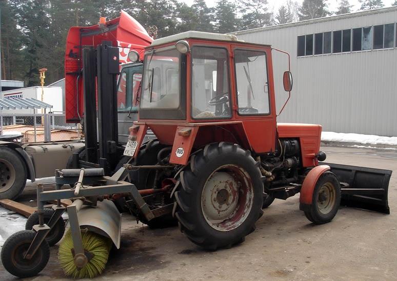 Трактор Т-30 применение