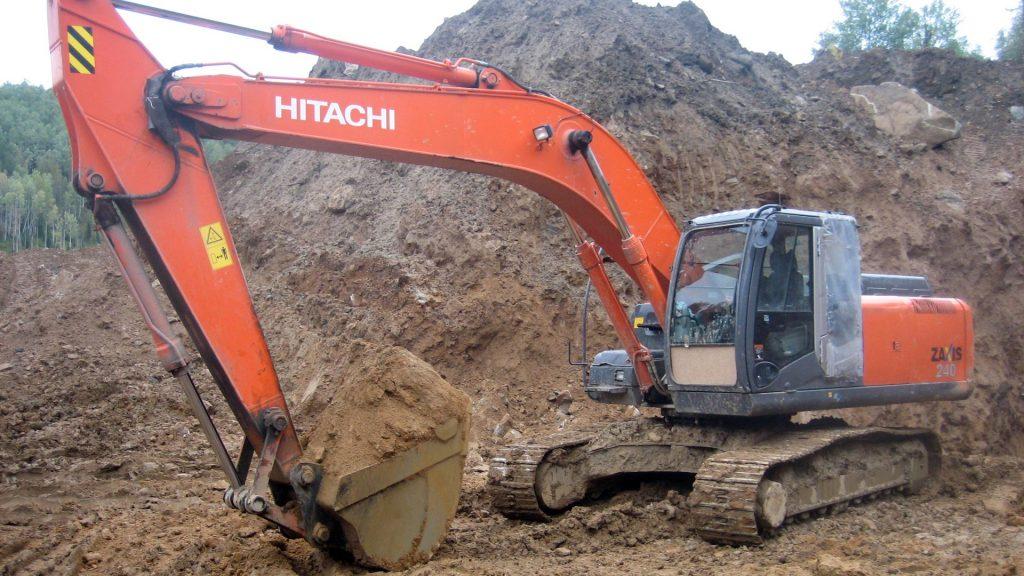 Экскаватор Hitachi ZX-240 технические характеристики