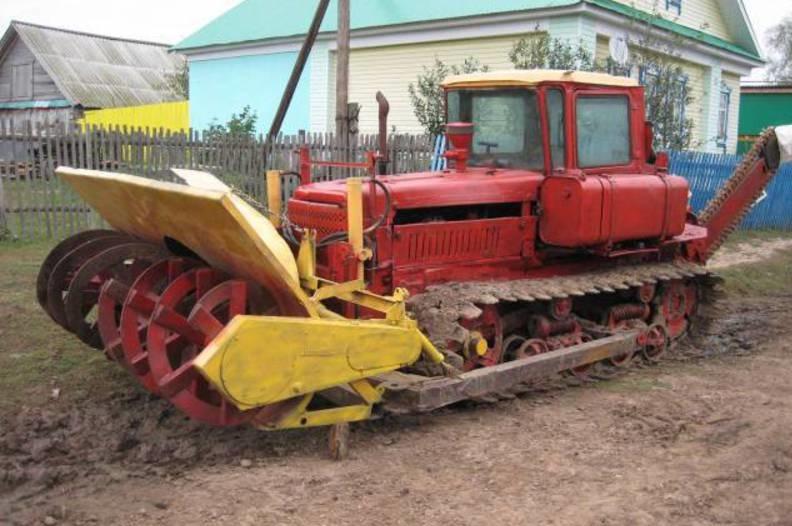 Рабочее оборудование ДТ-75М