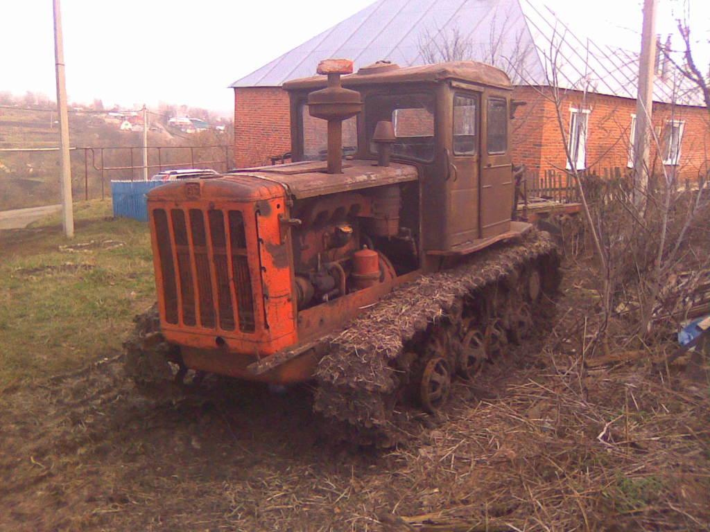 Трактор ДТ-54 технические характеристики