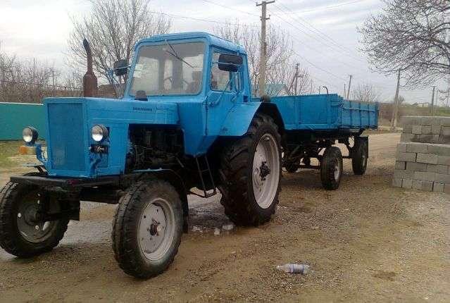 Трактор МТЗ-80 применение