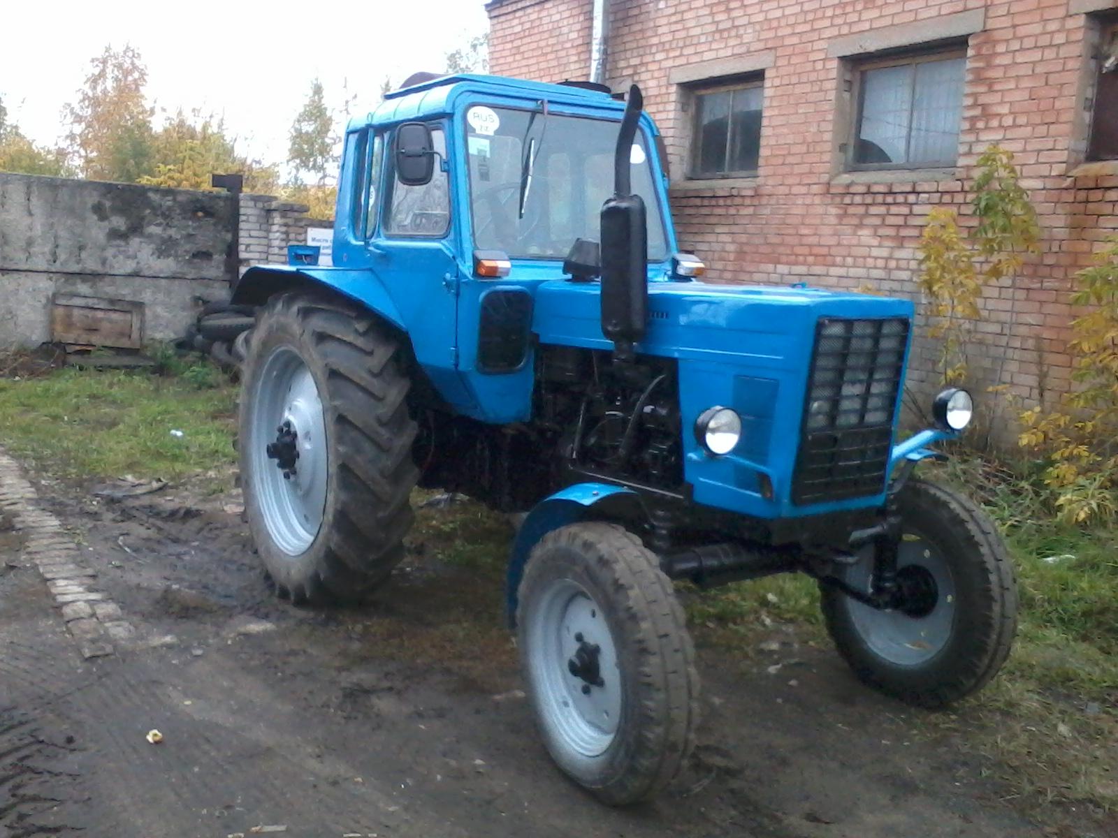 Трактор МТЗ-80   технические характеристики, устройство, цена