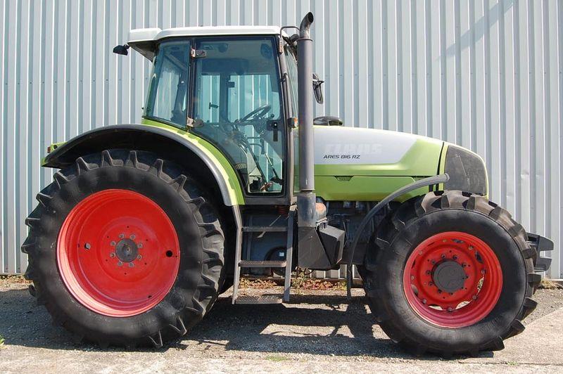 Трактор Claas Ares 816 RZ технические характеристики