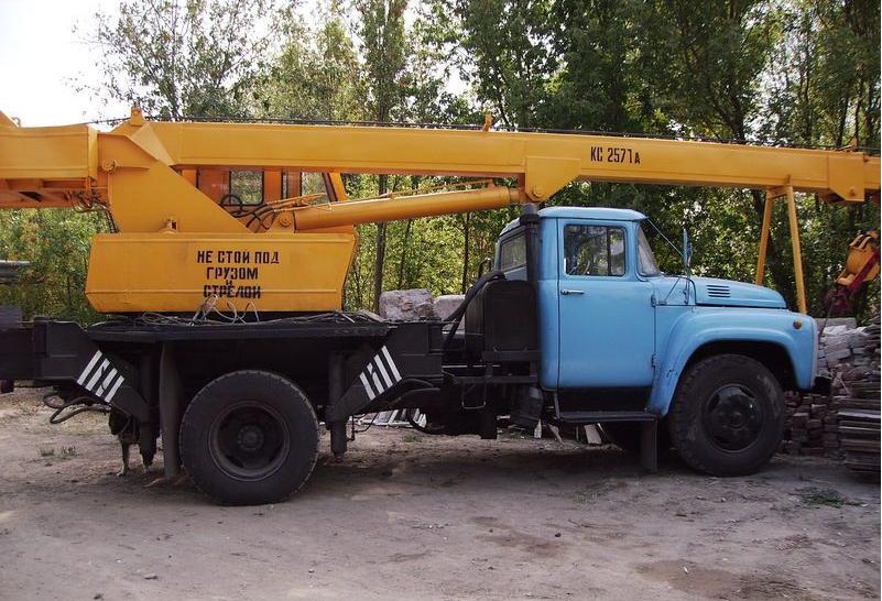 Автокран ЗИЛ-130
