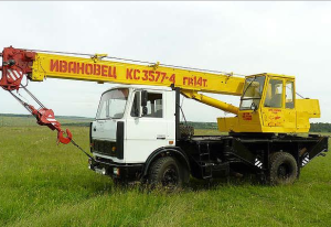 Автокран на базе МАЗ 5337