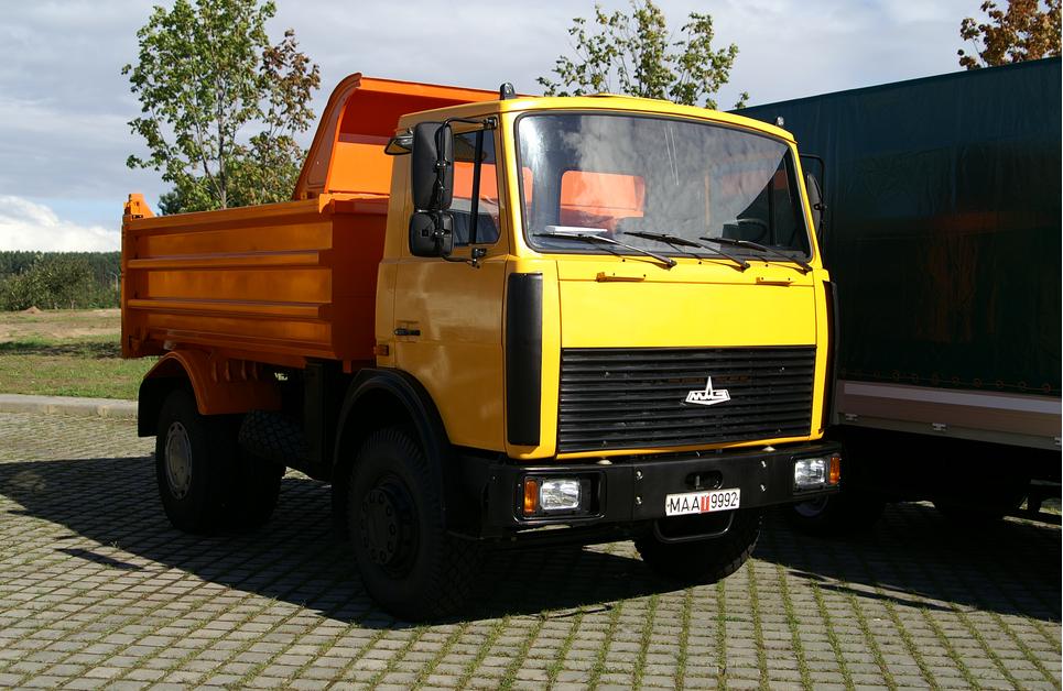 Самосвал МАЗ-5551