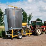 Мобильные зерносушилки Mecmar: циклические передвижные сушилки зерна