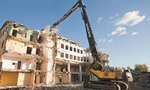 Спецтехника для сноса зданий