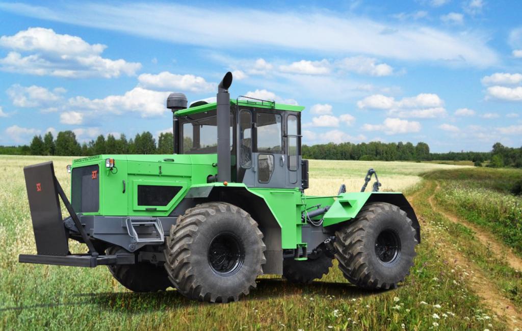 трактор к714